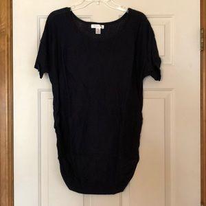 Maternity sweater -XL, navy